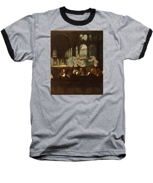 Baseball T-Shirt featuring the painting The Ballet From Robert Le Diable by Edgar Degas
