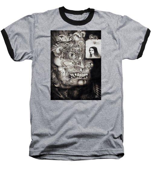 The Beast Of Babylon Baseball T-Shirt