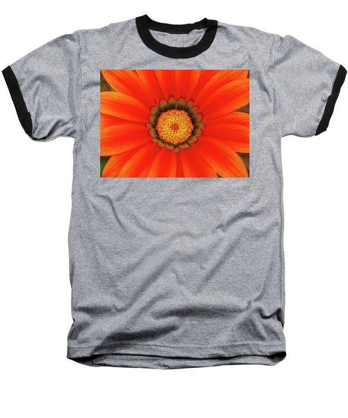 The Beauty Of Orange Baseball T-Shirt by Lori Tambakis