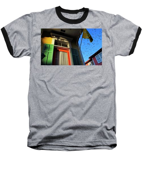 Baseball T-Shirt featuring the photograph The Birds by Skip Hunt
