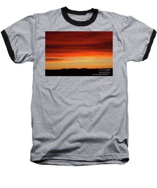 The Buttes At Sundown Baseball T-Shirt