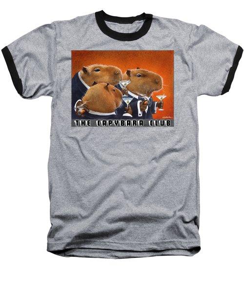 The Capybara Club Baseball T-Shirt