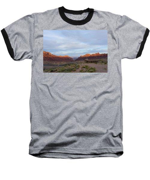 The Castles Near Green River Utah Baseball T-Shirt