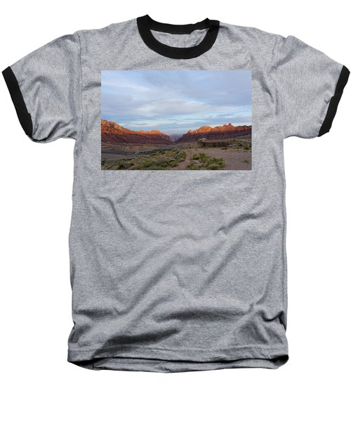 The Castles Near Green River Utah Baseball T-Shirt