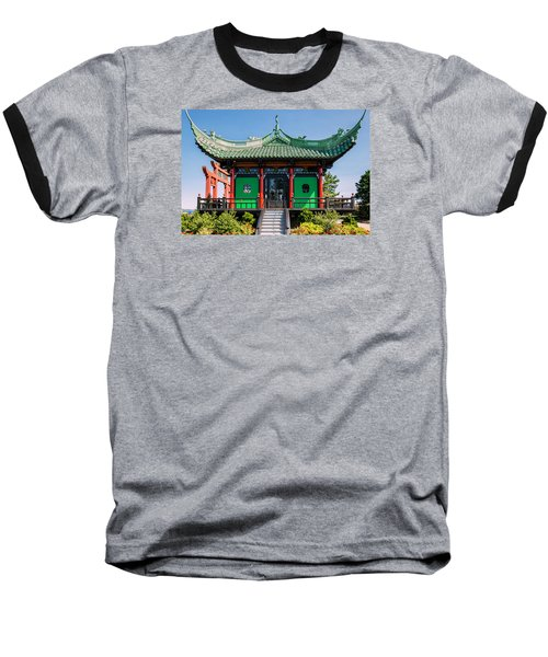 The Chinese Tea House Baseball T-Shirt