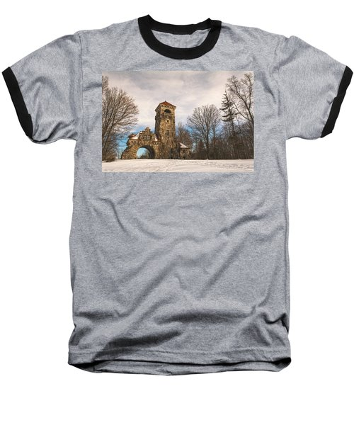 The Entrance Baseball T-Shirt by Angelo Marcialis