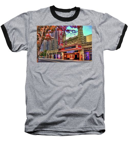 The Fabulous Fox Theatre Atlanta Georgia Art Baseball T-Shirt