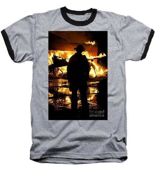 The Fireman Baseball T-Shirt
