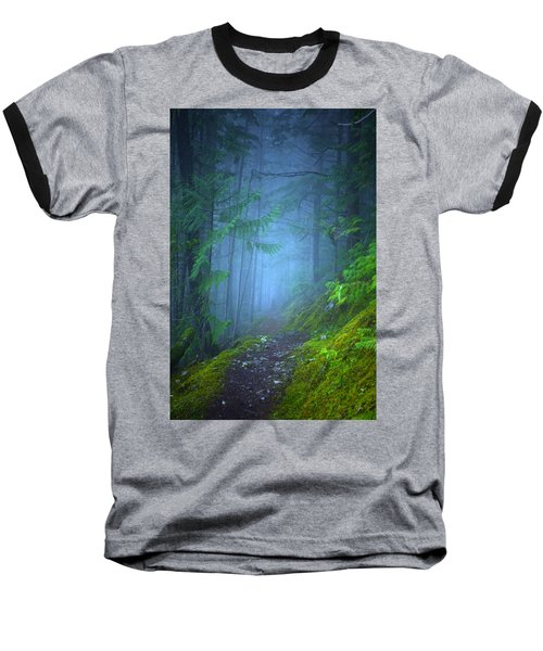 Baseball T-Shirt featuring the photograph The Forest Blues by Tara Turner