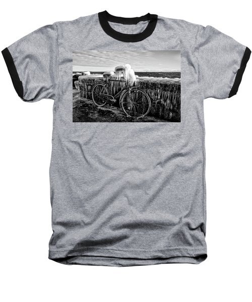 The Frozen Bike Baseball T-Shirt
