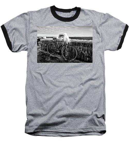The Frozen Bike Baseball T-Shirt