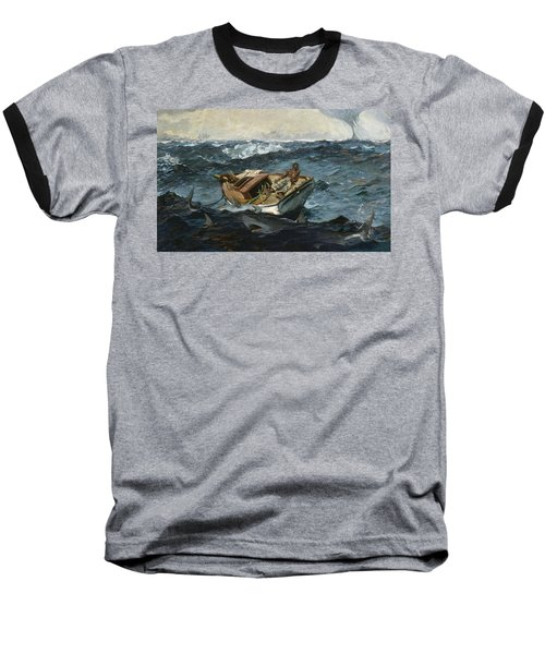 The Gulf Stream Baseball T-Shirt by Winslow Homer