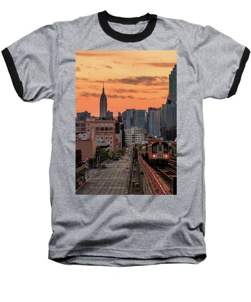 The Heart Of The City Baseball T-Shirt