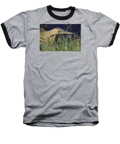 Baseball T-Shirt featuring the photograph The Hunt by Kathy Gibbons