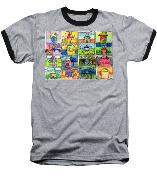 The Little Houses Baseball T-Shirt