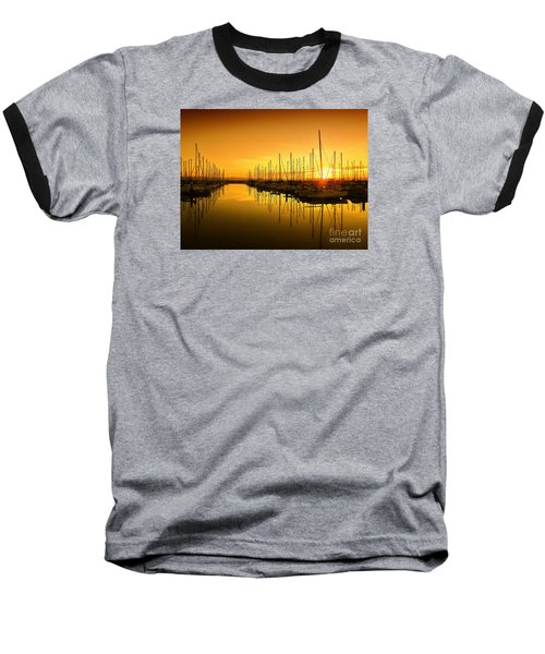 The Marina Baseball T-Shirt by Scott Cameron
