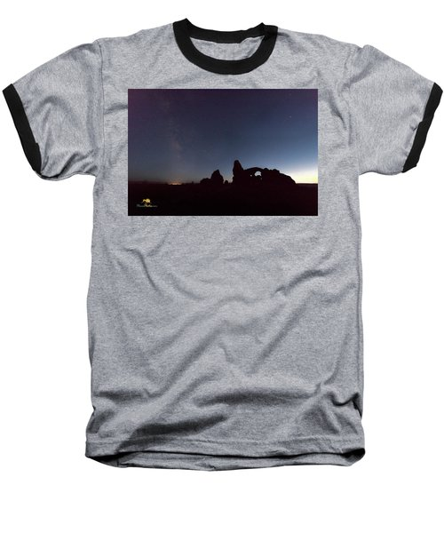 Baseball T-Shirt featuring the photograph The Milky Way by Jim Thompson