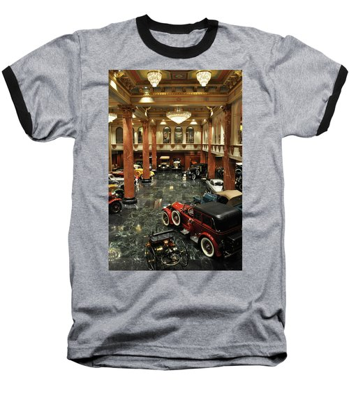 Grand Salon At The Nethercutt Baseball T-Shirt