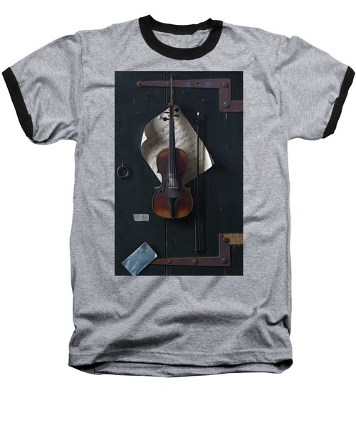 The Old Violin Baseball T-Shirt