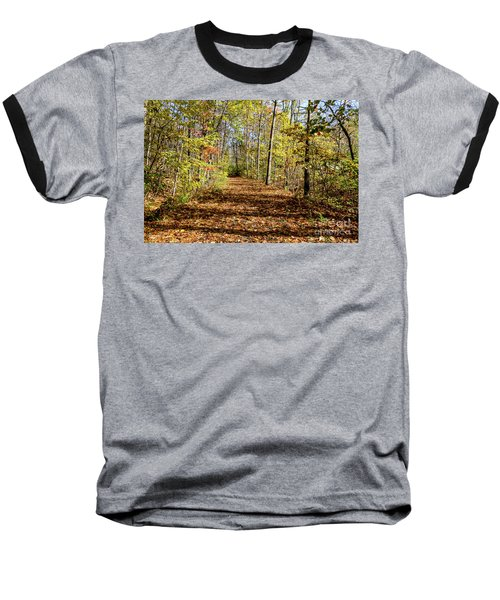 The Outlet Trail Baseball T-Shirt by William Norton