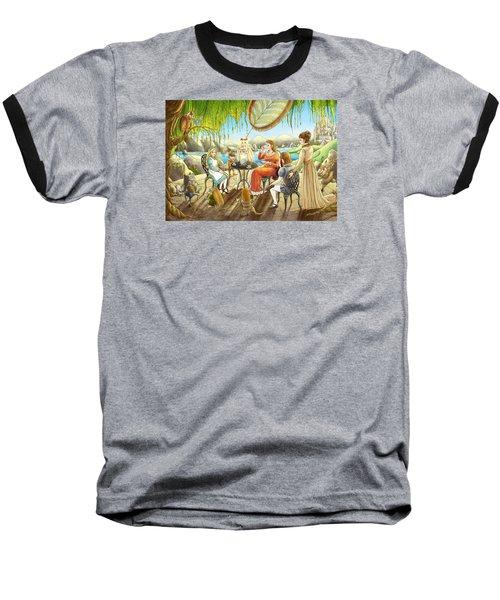 The Palace Garden Tea Party Baseball T-Shirt