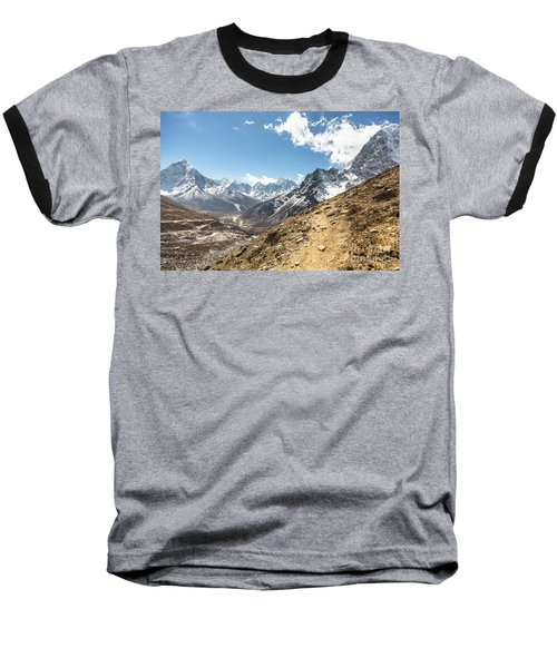 The Path To Cho La Pass In Nepal Baseball T-Shirt