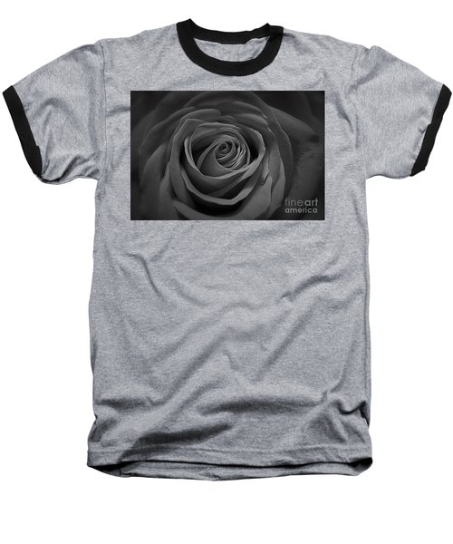 The Perfect Rose Baseball T-Shirt by Paul Cammarata
