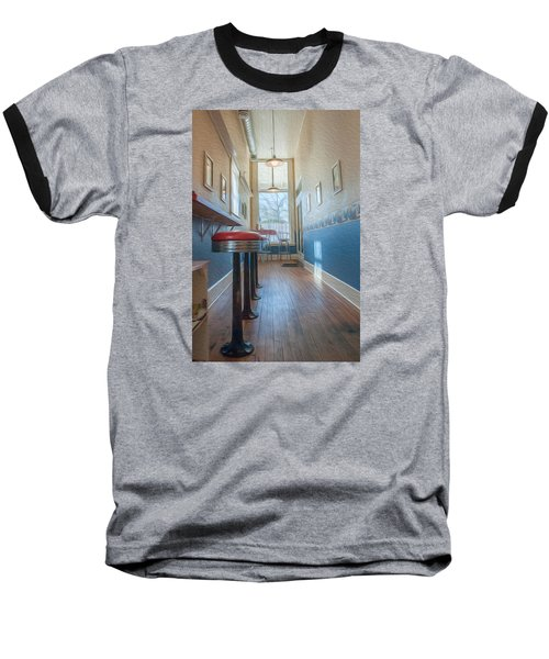 Baseball T-Shirt featuring the photograph The Pie Shop by Dan Traun