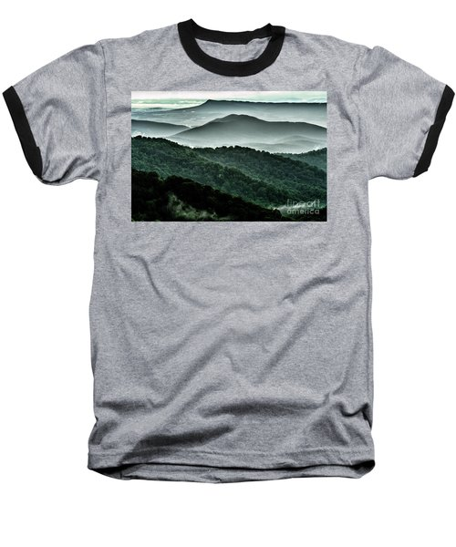 The Point Overlook Baseball T-Shirt by Thomas R Fletcher