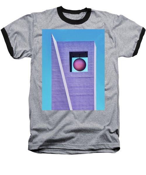 The Purple Tower At Pershing Square Baseball T-Shirt
