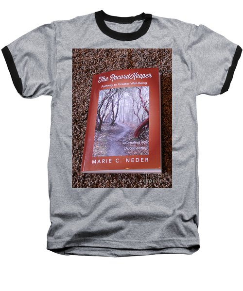 Baseball T-Shirt featuring the photograph The Recordkeeper by Marie Neder