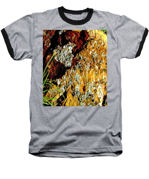 Baseball T-Shirt featuring the photograph The Rock by Lenore Senior