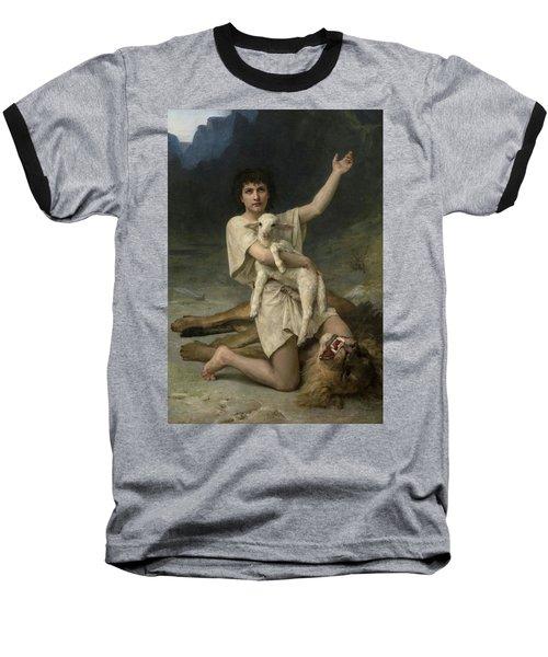 The Shepherd David Triumphant Baseball T-Shirt