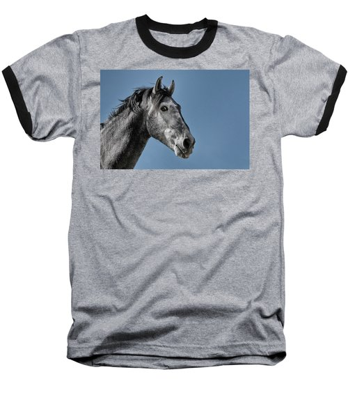 The Stallion Baseball T-Shirt by Michael Mogensen