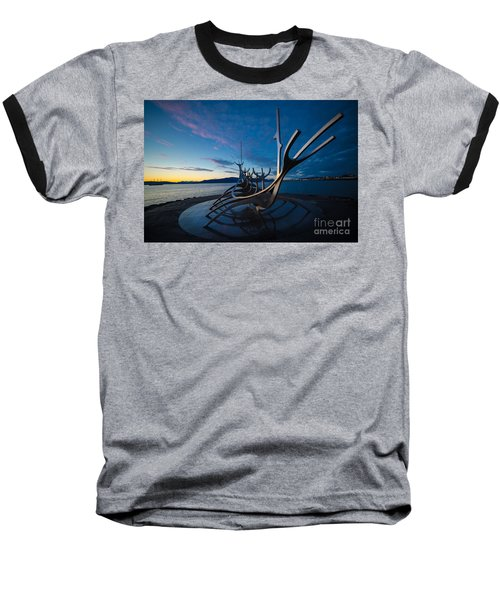 The Sun Voyager  Baseball T-Shirt