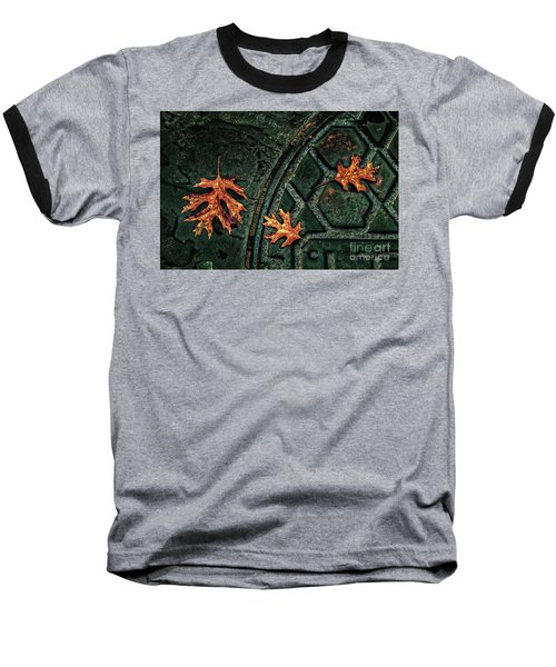 The Three Leaves Baseball T-Shirt