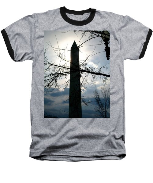The Washington Monument  Baseball T-Shirt
