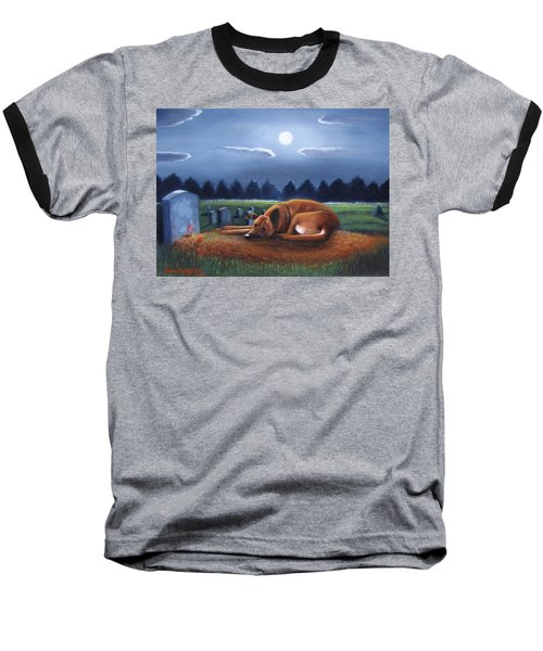 The Watchman Baseball T-Shirt by Gene Gregory
