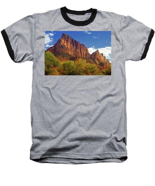 The Watchman Baseball T-Shirt by Raymond Salani III