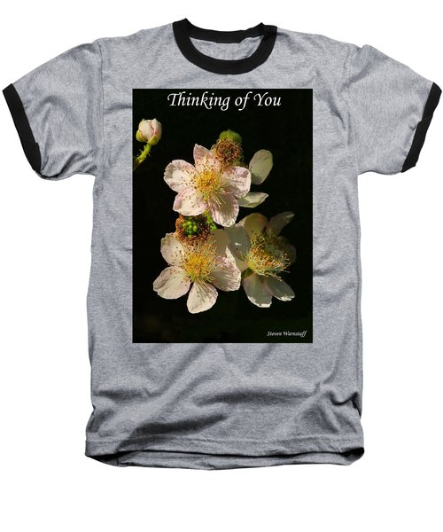 Thinking Of You Baseball T-Shirt