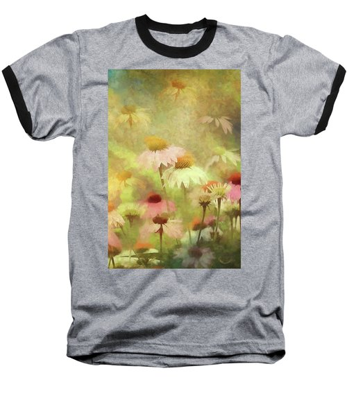 Thoughts Of Flowers Baseball T-Shirt