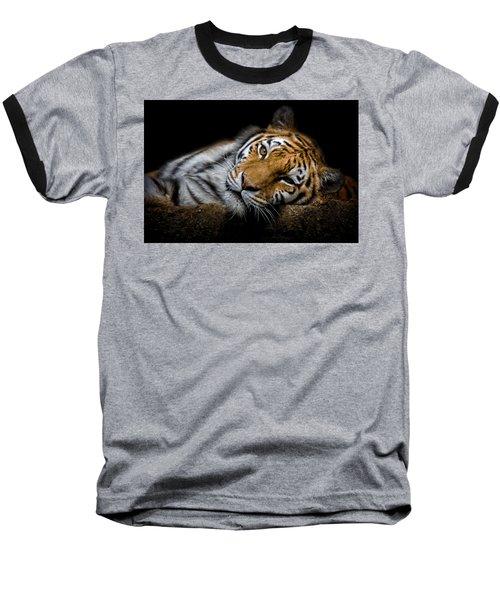 Tiger 2  Baseball T-Shirt
