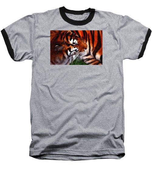 Tiger Baseball T-Shirt by Andre Faubert
