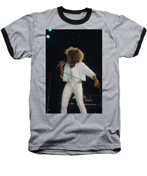 Tina Turner Baseball T-Shirt