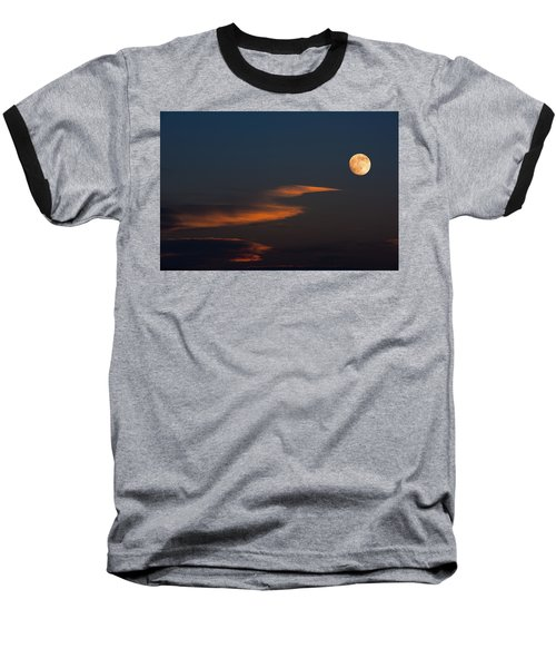 To The Moon Baseball T-Shirt by Don Spenner