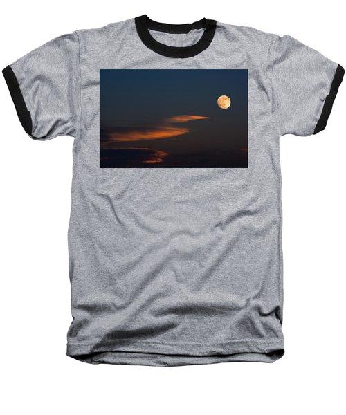 To The Moon Baseball T-Shirt