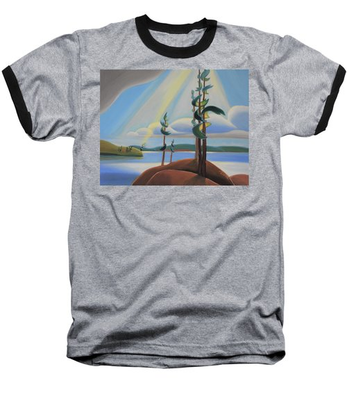 To The North Baseball T-Shirt