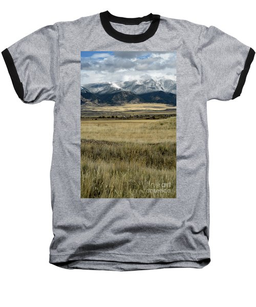 Tobacco Root Mountains Baseball T-Shirt by Cindy Murphy - NightVisions