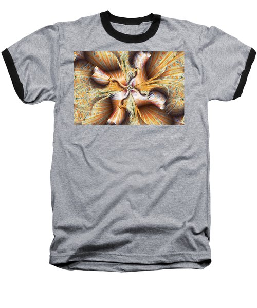 Toffee Pull Baseball T-Shirt by Jim Pavelle
