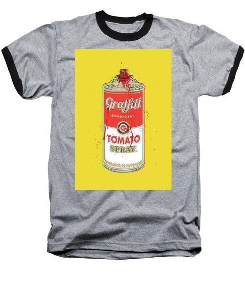 Tomato Spray Can Baseball T-Shirt
